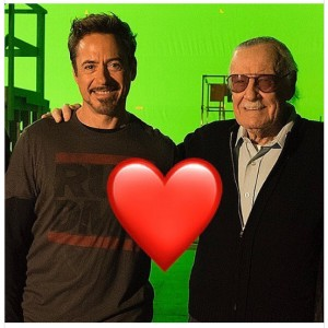 Robert Downey Jr. and Sten Lee