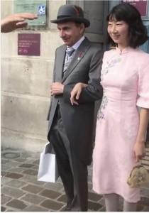 Michel Houellebecq marries2