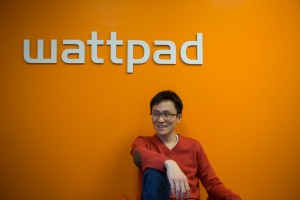 Wattpad CEO and co-founder Allen Lau