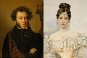 Пушкин и Гончарова3