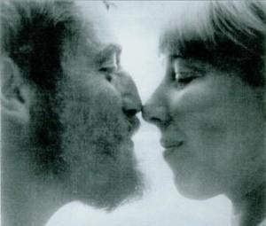 Леонид Аронзон и Рита Пуришинская, 1966
