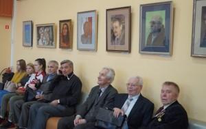 Литераторы Перми и экспозиция их портретов