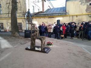 Открытие памятника Гумилеву1