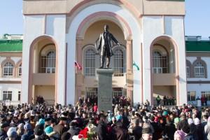 Памятник великому татарскому поэту Габдулле Тукаю
