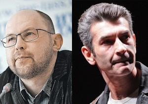 Алексей Иванов и Андрей Рубанов