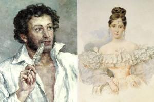 Пушкин и Гончарова4