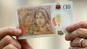 Банкнота с Джейн Остин